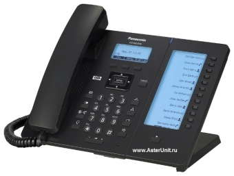 Проводной SIP телефон Panasonic KX-HDV230RUB