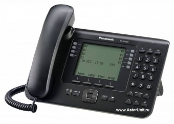 Системный IP телефон Panasonic KX-NT560RUB
