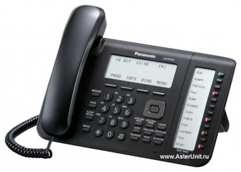 Системный IP телефон Panasonic KX-NT556RUB